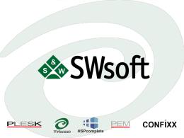 SWsoft Corporate