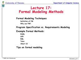 Lecture 7: Software Design Quality