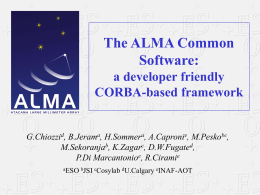 The ALMa Common SOftware: a developer friendly …