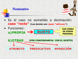 Nominativo