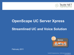 OpenScape UC Server Xpress
