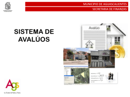 PISABIT - Covea - Colegio de Valuadores del Estado de