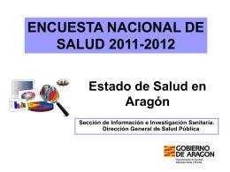 ENCUESTA NACIONAL DE SALUD 2011