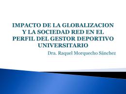 IMPACTO DE LA GLOBALIZACION Y LA SOCIEDAD RED EN …
