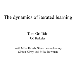 Revealing inductive biases through iterated learning