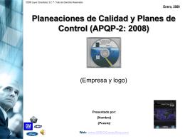 P.T.APQP.CP.2.2008