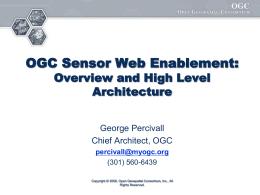EC08 OGC Pilot Status - Open Geospatial Consortium