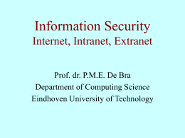 Information Security Databases and (Inter)Networks