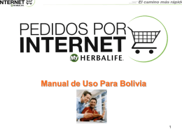 Web-Ordering ARGENTINA