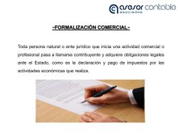 Diapositiva 1 - Asesor Contable Asociados Ltda