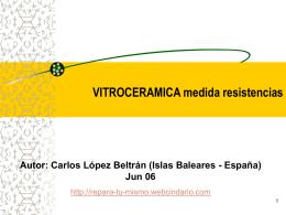 VITROCERAMICA - Diagramasde.com