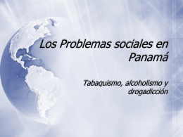 Los Problemas sociales en Panam&#225