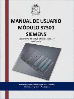MANUAL DE USUARIO MODULO S7300 SIEMENS …