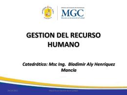 Diapositiva 1 - Bladimir Henriquez