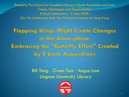 Flapping Wings Might Create Changes in the Atmosphere