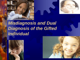 Identification of the Gifted Child