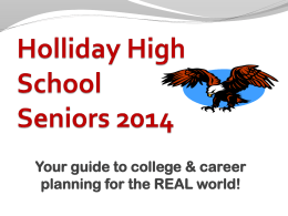 Holliday High School Seniors 2012