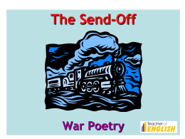 The_Send_Off_Wilfred_Owen
