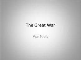 The Great War - DPB