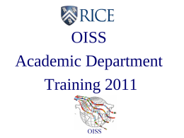 presentation OISS training 2011.final2