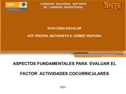 ACTIVIDADES-COCURRICULARES