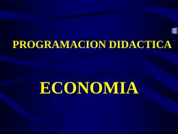 PROGRAMACION DE UNA UNIDAD DIDACTICA