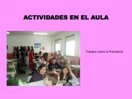 ACTIVIDADES EN EL AULA