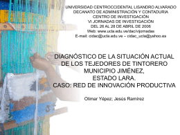 "PPT - Universidad Centroccidental ""Lisandro Alvarado"""