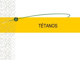 TETANOS - Clases y Libros
