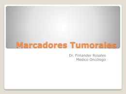 Marcadores Tumorales - Revista de Medicina Interna de …