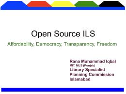OSS Seminar Lahore 0808