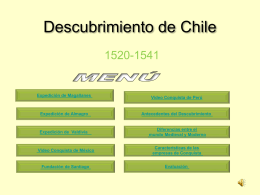 Descubrimiento de Chile - Historia | Just another