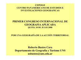 Gobernanza rural-Perspectiva territorial