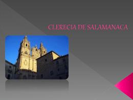 CLERECIA DE SALAMANACA