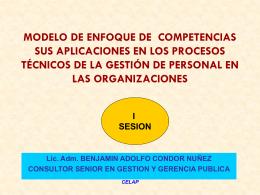 MODELO DE ENFOQUE DE COMPETENCIAS SUS …