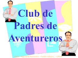 Club de padres de Aventureros - Hosting suspendido