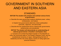 CULTURES AND RELIGIONS IN SOUTHERN AND EASTERN …