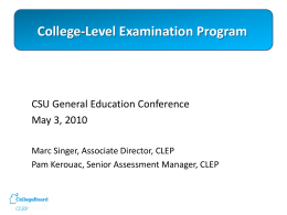 College-Level Examination Program