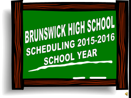 BRUNSWICK HIGH SCHOOL - Brunswick City Schools / …