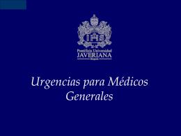 DIPLOMADO DE URGENCIAS