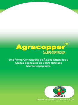 Diapositiva 1 - Agranco Corp. U.S.A.