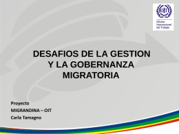 Gestion Migratoria Laboral