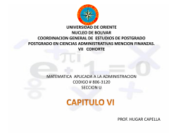 UNIVERSIDAD DE ORIENTE NUCLEO DE BOLIVAR …