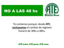 NO A LAS 48 hs