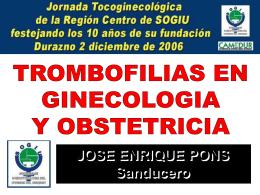 Diapositiva 1 - SOGIU - Sociedad de Ginecotocologia del