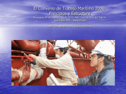 The ILO proposal for a consolidated maritime labour …