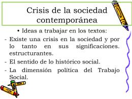 Lo social