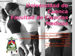 Universidad de Cuenca Facultad de Ciencias Medicas