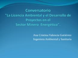 'La Licencia Ambiental y el Desarrollo de Proyectos en el