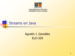 Streams y Persistencia en Java